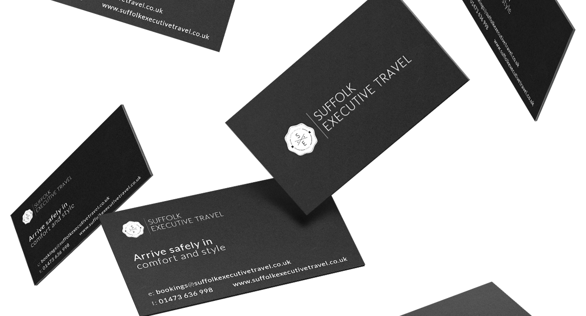 Suffolk Travel Business Cards