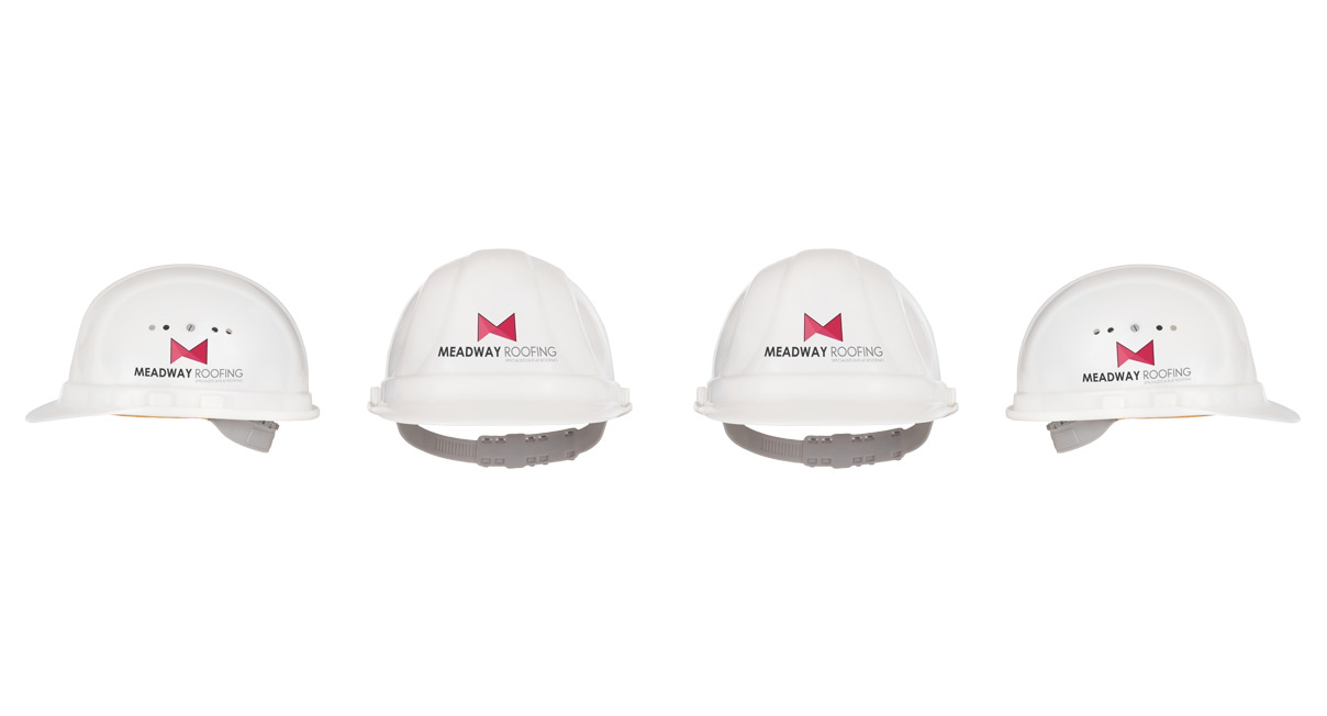 Meadway Roofing Hats